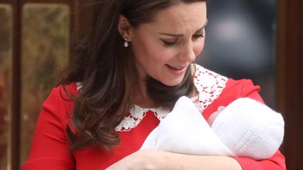Kate Middleton steps out for the first time since giving birth to Prince Louis