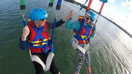 Try it Out Tuesday - Parasailing with Flying Kiwi Parasail