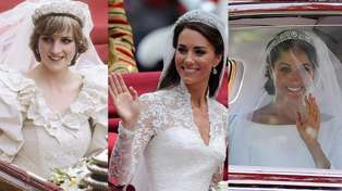 Here's how Meghan Markles's wedding compared to Princess Diana's and Kate Middleton's...
