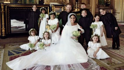 The royal wedding photographer reveals his clever trick for keeping children on their best behaviour