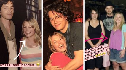 Sarah Gandy's spectacular throw-back snaps from the noughties will make you chuckle