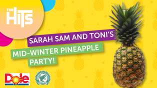Sarah Sam and Toni's Mid-Winter Pineapple Party with Dole!