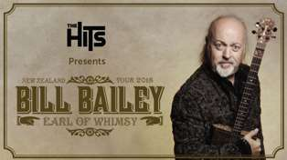 The Hits Presents Bill Bailey live in New Zealand!