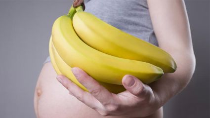 It turns out that old wives tale about bananas and pregnant women could be true!