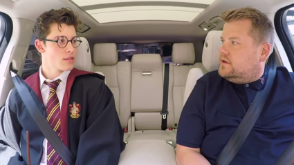 Shawn Mendes joins James Corden for Carpool Karaoke