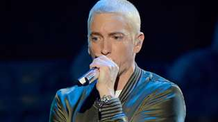 Eminem is being slammed after playing this sound effect at his concert...