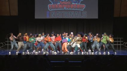 This Kiwi high school has gone viral for their INCREDIBLE 90s hip-hop dance routine!
