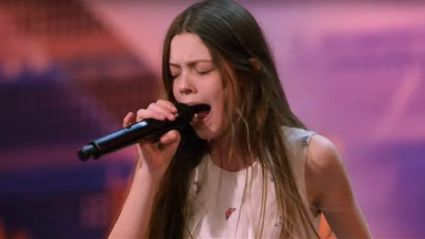 "13-year-old dubbed the ""next Janis Joplin"" wows America's Got Talent judges with her powerhouse performance"