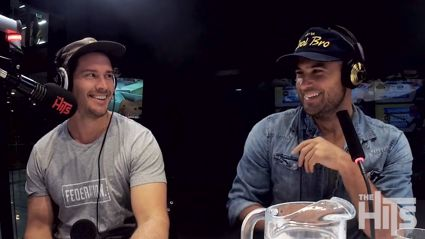 Former Bachelor stars Jordan Mauger and Zac Franich join Sarah, Sam and Toni's 'Man Panel'