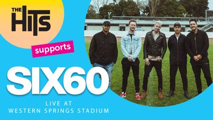 SIX60 announce Western Springs Stadium concert!