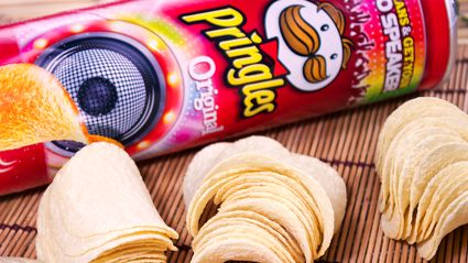 It turns out there's a 'right' way to eat Pringles and we've been doing it all wrong!