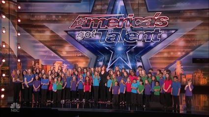 Children's choir wows America's Got Talent judges with their Greatest Showman's 'This Is Me' performance