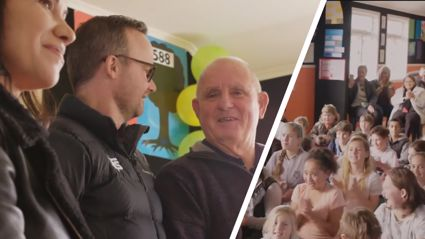 Kiwi kids' heartwarming gift for their school's hard-working caretaker