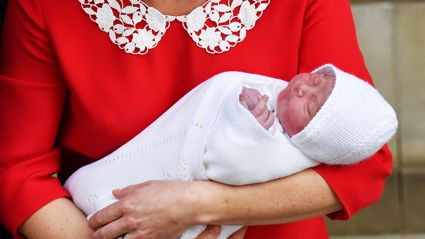 Here's your first look at Prince Louis' christening!