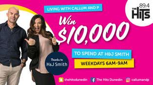 WIN $10,000 at H&J Smith Dunedin