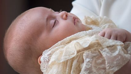 The official portraits from Prince Louis' christening have been released - and they are stunning!