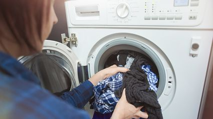 Mum warns parents over front loader washing machines after her child got stuck in one