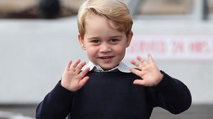Duke and Duchess of Cambridge release never-before-seen photo of Prince George for his fifth birthday!