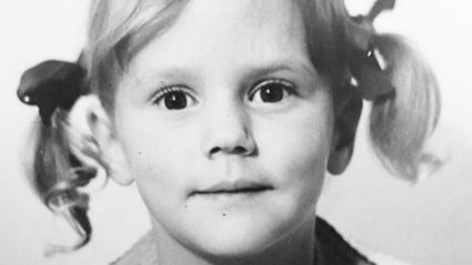 Can you guess which famous Kiwi is this little cutie?
