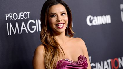 Eva Longoria shares gorgeous first photo of newborn son!