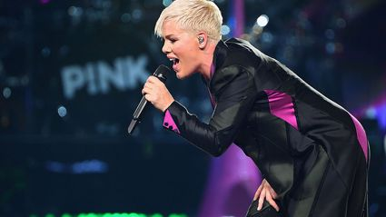 Pink has been forced to postpone her Sydney show after coming down with illness