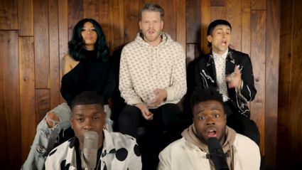Pentatonix put their spin on a Rihanna medley - and it is INCREDIBLE!