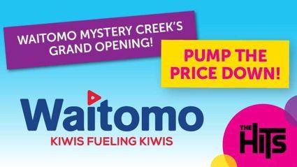 Waitomo Fuel Grand Opening at Mystery Creek!