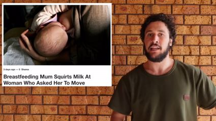 'How To Dad' shares his thoughts on breastfeeding in public - and we couldn't agree more!