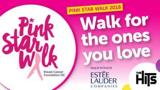 Pink Star Walk 2018