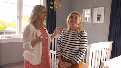Toni Street gives us video tour of her baby boy's super sweet nursery