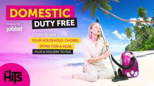 The Hits Domestic Duty Free thanks to Joblist