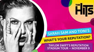 WIN a double pass to Taylor Swift with Sarah Sam and Toni's What's Your Reputation?