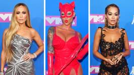 The most stunning and shocking celebrity looks from the MTV VMAs red carpet