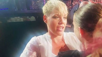 Pink stopped her concert to console 14-year-old fan who just lost her mother