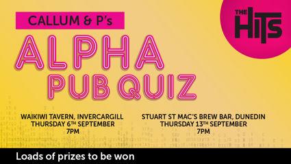 Callum and P's Alpha Pub Quiz
