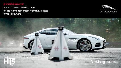 WIN: A spot on the Jaguar Art of Performance Tour