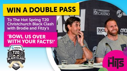 Win tickets to the Black Clash