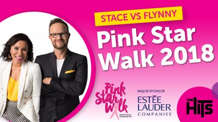Pink Star Walk - Stace v Flynny