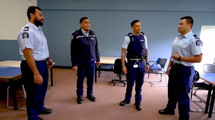 NZ police's barbershop quartet singing classic Kiwi waiata for Māori Language Week will absolutely melt your heart