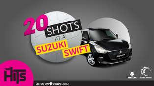 20 Shots at a Suzuki Swift