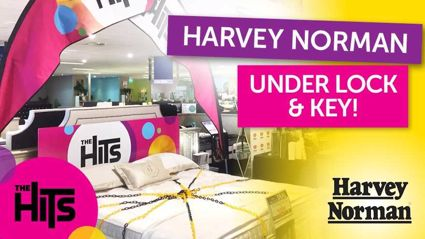 WIN: Harvey Norman Under Lock & Key