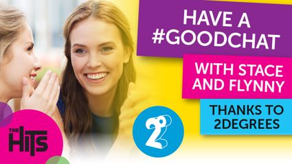 Have a #Goodchat with Stace & Flynny