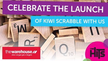 Come check out the launch of Kiwi Scrabble at The Warehouse Manukau!
