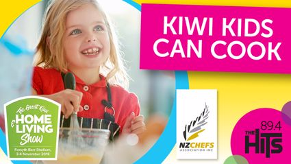 Kiwi Kids Can Cook at the Home and Living Show!