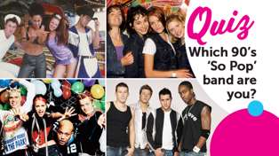 QUIZ: Which 90's 'So Pop' band are you?