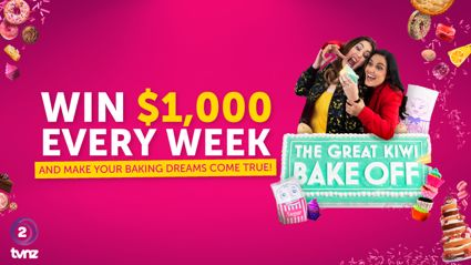 Win $1,000 with The Great Kiwi Bake Off!