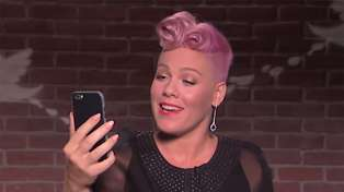 Watch Pink's brilliant response to celebrity Mean Tweets