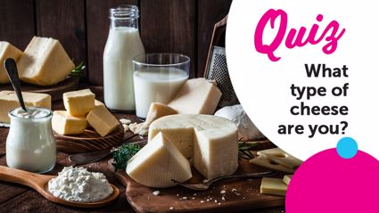 QUIZ: What type of cheese are you?