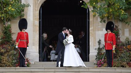 See all the stunning photos from Princess Eugenie and Jack Brooksbank's royal wedding!