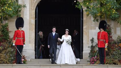 Princess Eugenie and Jack Brooksbank's official wedding photos have been released - and they are so sweet!